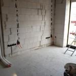 Ein Teil der Elektroinstallation im Büro