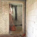 Ein erster Teil der Verkabelung im Haustechnikraum