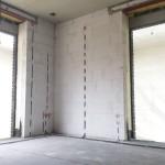 Wohnzimmerecke mit Vorbereitung für einen Access-Point