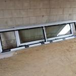 Die Fenster in der Garage sind mit einer Falzlüftung versehen