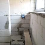 Duscharmatur in Vormauerung
