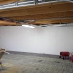 ...nachdem auch die Garage gestrichen wurde...