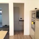 Vorratsraum mit Küchenzeile