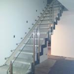 Fertig montierte Treppe
